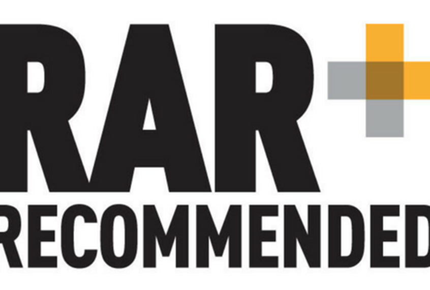 We're RAR rated!