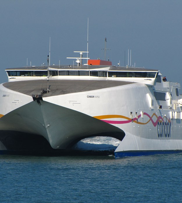 Keeping Condor Ferries website afloat